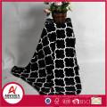 Impreso nuevo diseño 100% poliéster impreso manta de lana de coral