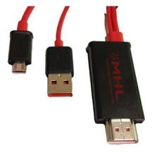 Samsung S2 Micro-USB / MHL al cable del adaptador de HDMI (YLS-01)