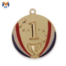 Buy custom gold metal coolest race medals
