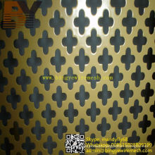 PVC Coated Perforated Metal Sheet for Decoration