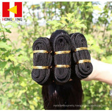 Hot wholesale Best quality no chemical top quality wavy style brazilian virgin hair extension
