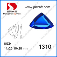 Clear Facet Triangle Loose Crystak Rhinestone for Jewelry Stone Bead