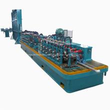 Máquina de soldadura de tubo redondo de acero inoxidable de alta frecuencia