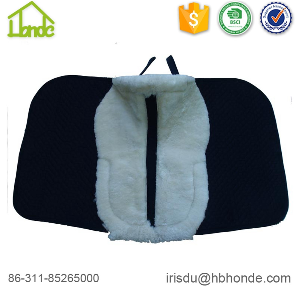 Piel de oveja genuina Soft Horse Saddle pad