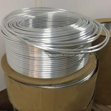 Алюминиевая спиральная труба для холодильной катушки испарителя