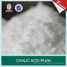 Ácido oxálico 99.6% Min para cuero y bronceado