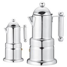 Stainless Steel Electric Moka Coffee Maker