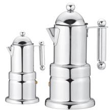 Электрическая кофеварка Moka из нержавеющей стали