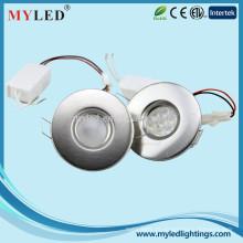 Chineses de alta potência nova de 3,5 w multi grau dimmable 75 milímetros levou luz de parede downlight