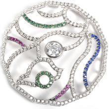 Caractéristiques du connecteur de bijoux métalliques de mode pour collier d'accessoires DIY