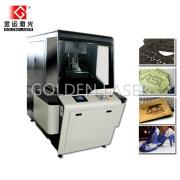 Galvo Lazer máquina de gravura para sapato de couro