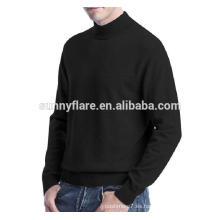 Suéter de punto de cachemira de visón aptos para hombres