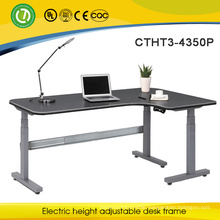 3-Leg Electric Adjustable Sit and Stand Up Desk With High Quality