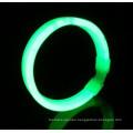 green wide glow bracelet