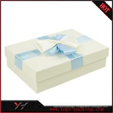 Wholesale Recycle White Fancy Cosmetic Packaging Box
