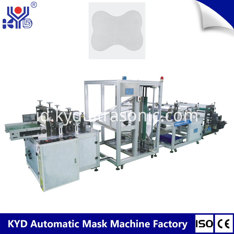 Automatic Disposable Airline Head Rest Making Machine
