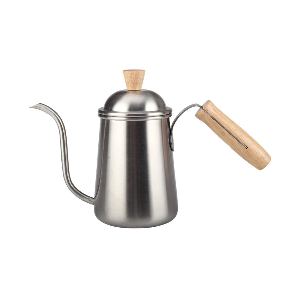 Stainless Steel 650ml Pour Over Coffee Drip Kettle
