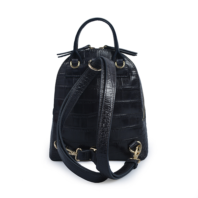 popular elegant designer crocodile latest women leather backpack