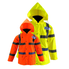 High Visibility 300D Security Jacket