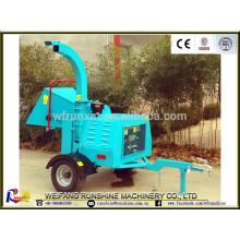 Concasseur à bois diesel de certificat CE