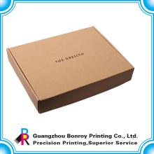 Reciclaje personalizado Caja de empaquetado de cartón ondulado de 5 hojas de plátano de fruta