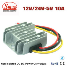 Waterproof IP68 12V/24VDC to 5VDC DC-DC Converter for Car