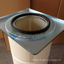 FORST High Quality Square Flange Filter Cartridge With PTFE