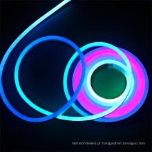 Show party decoração de casa 20 M 5050 Rainbow Led 12 V WS2811 IC À Prova D 'Água IP68 RGB luz de tubo de néon Levou flexível