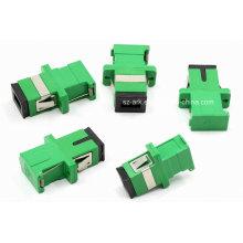 Sc/APC Green Shutter Fiber Optical Adapter