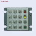 Teclado de PIN de cifrado PCI para máquina expendedora