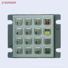 Clavier PIN de cryptage PCI pour distributeur automatique