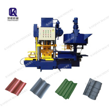 PLC Control Colore Glazed Roof Tile Making Machine /cement Roof Tile Machine/Step Tile Roofing Sheet Roll Forming Machine