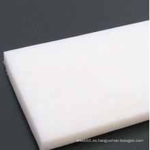 Hoja de alta densidad del polietileno PE blanco de China