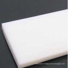 Feuille blanche de polyéthylène haute densité PE de Chine