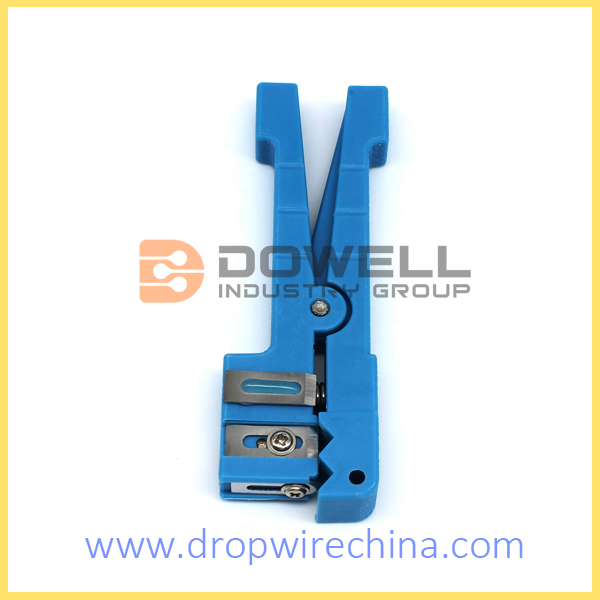 Décapant coaxial de fibre optique Stripper 45-163 DW-45-163
