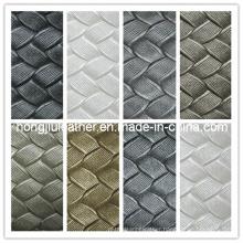 Rattan Plaited Articles Pattern of PVC Leather (Hongjiu-318#)