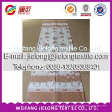 Tejido de sábanas de algodón estampado textil para el hogar nuevo