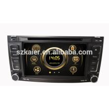 Venda quente PIP HD wince 6.0 rádio do carro para VW Touareg com GPS / Bluetooth / Rádio / SWC / Virtual 6CD / 3G / ATV / iPod