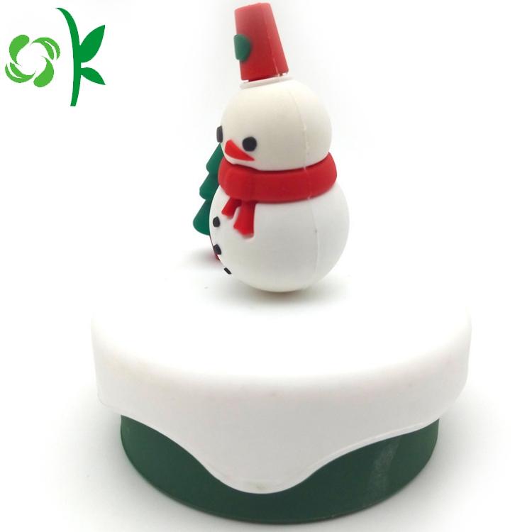 Christmas Mug Silicone Lid