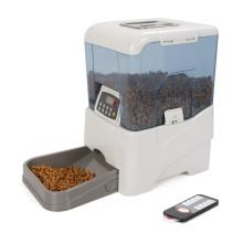 O alimentador automático digital o mais novo do animal de estimação da grande capacidade alimentou o alimentador de controle remoto do gato do cão