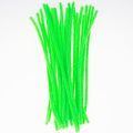 Chenille Stems Pipe Cleaners and tinsel fabric