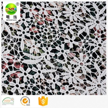 2020 chemical embroidery lace fabric for dress