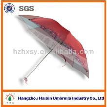 Paraguas plegable 21 '' * 8k del color del paraguas que cambia de la tela / paraguas uv / paraguas protector del sol