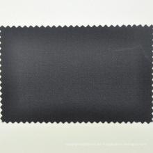 Paño de sarga de esmoquin negro de paño de licra de lana italiana por el metro para hecho a medida