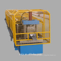 Máquina de moldagem a frio de tubos de chuva de aço / linha de produção de calhas de chuva