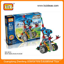 LOZ Motor Building Blocks Jungle Robotic Warrior 120 Piezas DIY Juguetes