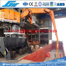 400tph Electrical Hydraulic Scrap Handling Crane