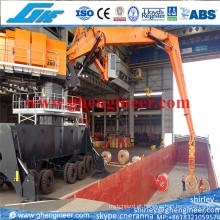 400tph Crane hidráulico da manipulação da sucata hidráulica