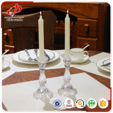 Decoration household white plain candle