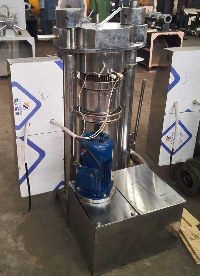 High Efficiency Oil Expeller Machine